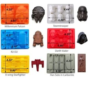 Star Wars chocolate/ice cube silicone mold